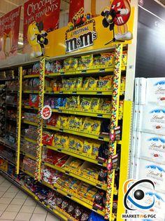 Une mini Boutique M's en rayon #PLV #Théatralisation