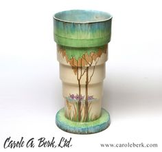 Clarice Cliff Umbrella Stand