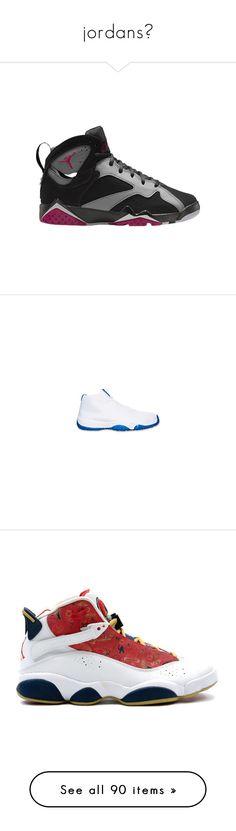 5a50c80bf3b jordans☄ by insanelyuniquechick ❤ liked on Polyvore featuring shoes, jordan  12, jordans,
