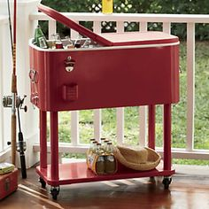 Enter our A Summer of Memories Sweepstakes and make your summer memorable with this Retro Rolling Cooler! Learn more> www.countrydoor.com/pinterestsweeps