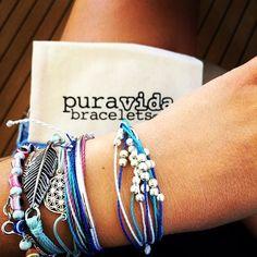 Pura Vida Stacking Bracelets