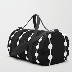 Sport Gym Bag Dolphin Fish Pattern Canvas Travel Duffel Bag