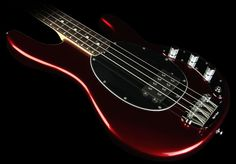 Ernie Ball Music Man Stingray Bass Candy Red. One day... one day... Just have to get on winning that lottery.