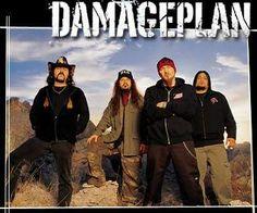 damageplan - Vinnie Paul,  Dimebag Darrell, Patrick Lachman, Bob Zilla
