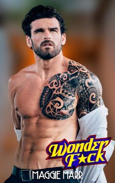 Wonder F*ck by Maggie Marr Books - #CoverReveal featuring Stuart Reardon, Professional Athlete and Model & Excerpt