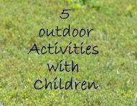 Outdoor fun!