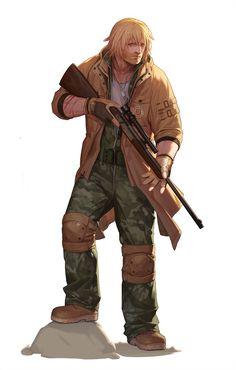 Survival camping tips Game Character, Character Concept, Concept Art, Character Design, Ninja, Big Animals, Can Band, Shadowrun, Illustrations