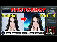 How to Change Background use by Eraser Tools in Photoshop CC || Hindi/Urdu|| # 14 - (More Info on: http://LIFEWAYSVILLAGE.COM/videos/how-to-change-background-use-by-eraser-tools-in-photoshop-cc-hindiurdu-14/)