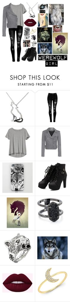 A fashion look from August 2017 featuring boat neck tee, gray jacket and skinny leg jeans. Browse and shop related looks. Werewolf Girl, Heart Choker, Fall Clothes, Gray Jacket, Kendra Scott, Casual Wear, Supernatural, Fall Outfits, Your Style