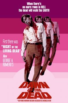 Dawn of the Dead, George Romero Horror Movies Coming Soon, Scary Movies, Old Movies, Vintage Movies, 1970s Movies, George Romero, Evil Dead, Horror Movie Posters, Horror Icons