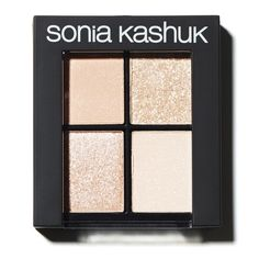 Sonia Kashuk Monochrome Eye Quad - Textured Taupe freak that I am, this looks just about perfect. Sonia Kashuk, All Things Beauty, Beauty Make Up, Beauty Stuff, Beauty Full, Beauty Bar, Beauty Ideas, Drugstore Eyeshadow Palette, Makeup Eyeshadow