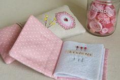 Stitching Notes: pincushion and needlebook