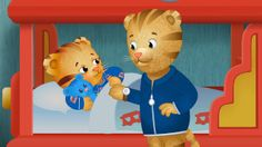 """Oh no! Daniel has a cold – and that's not fun at all! But he learns that when you're sick, rest is best. In case you missed it, the newest episode of Daniel Tiger's Neighborhood, """"Daniel Gets a Cold/Mom Tiger is Sick,"""" will re-air tomorrow, 1/24 on PBS KIDS! (Check local listings)"""