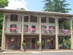 The historic Carversville Inn