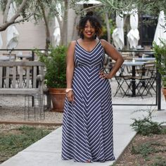 Plus Size Fashion for Women - In My Joi: Fine Lines with Gwynnie Bee