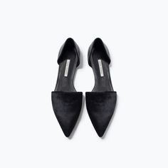 ZARA - SHOES & BAGS - LEATHER DORSAY SHOES