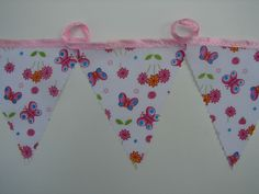 2 meters butterfly garden bunting party bunting