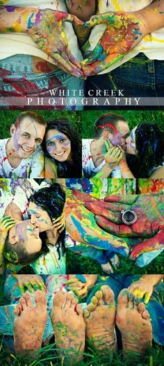 engagement picture ideas with Paint - Google Search