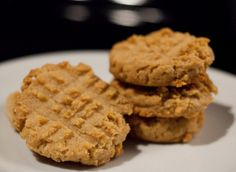 Peanut butter cookies. Less than 2 carbs a piece per each low-carb, gluten-free treat.