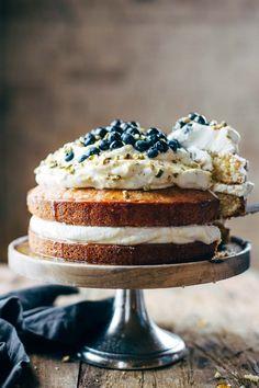 Orange Brunch Cake - Pinch of Yum