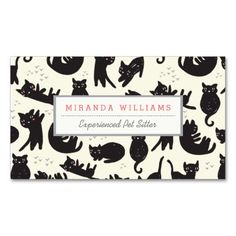 Cat Lady Business Cards Business Card
