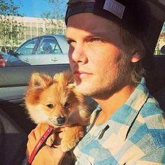 Avicii and his dog