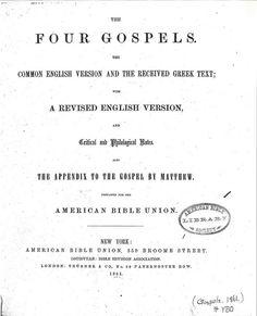 ABU Gospels Title, Bible In My Language