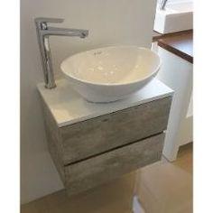 Mueble Baño Vanitory Con Mesada Para Bacha Apoyo 52x32x42