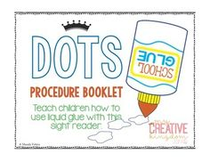 Use this PK-2 booklet to teach your kids about using liquid glue. MyCreativeKingdom