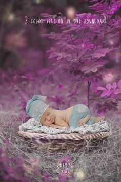 Newborn Digital Backdrops, Newborn digital prop, nature backdrop , baby nest, 3 file download,photographie bébé,Neugeborene,recién nacido