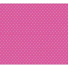 SheetWorld Fitted Pack N Play (Graco Square Playard) Sheet - Primary Pindots Pink Woven