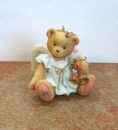 Enesco Cherished Teddies Angel with Bells Hanging Ornament #912980 NIB (CT2)