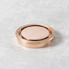 Rogerseller Grata Standard Round Floor Waste 100mm Rose Copper - Shower Grates - Rogerseller