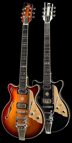 Gitarren, Bässe und Effektgeräte aus Deutschland: Duesenberg Guitars