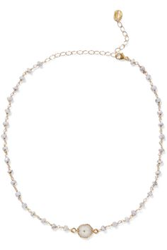 Gold-plated Necklace - one size Chan Luu yJITaa