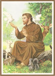 St. Francis of Assisi by pikachucutie17.deviantart.com on @deviantART