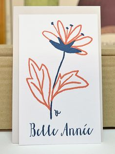 Cartes de vœux Letterpress élégantes et originales Merry Xmas création Dioton