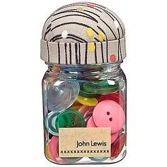 Buy Hemingway Design Dash Dot Button Jar online at JohnLewis.com - John Lewis