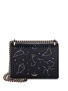 Kate Spade New York - Star Bright Constellation Marci Clutch Backpack For Teens, Classic Handbags, Unique Purses, Cute Bags, Kate Spade Purse, Fashion Bags, Women's Fashion, Constellations, Purses And Handbags