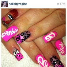One of my instagram/twitter buddies who does FABULOUS NAILS!!