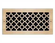 Laser Cut Wood Grilles | Pacific Register Company Laser Cut Wood, Laser Cutting, Wall Vent Covers, Types Of Wood, Animal Print Rug, Finding Yourself, Bronze, Rugs, Pattern