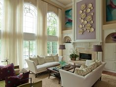 1000 Images About High Ceiling Living Rooms On Pinterest