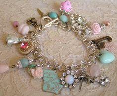 Charm bracelets.