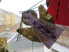 KINDERSCHERE STOFF PAPIER Homemade Crafts, Paper Shopping Bag, Advent, Inspiration, Decor, Paper, Christmas, Crafting, Biblical Inspiration