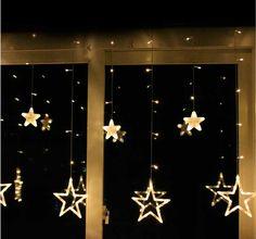 Xmas window lights uk led candles plug in . Xmas Window Decorations, Christmas Window Lights, Christmas Window Boxes, Christmas Door, Light Decorations, Windows Decor, Window Decorating, Christmas Displays, Christmas Time