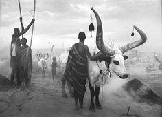 Sebastiao Salgado Dinka Group at Pagarau Cattle Camp Southern Sudan 2006 Documentary Photographers, Great Photographers, Magnum Photos, Street Photography, Art Photography, Family Photography, Landscape Photography, Photography Lighting, Photography Camera