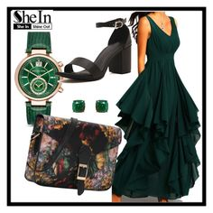 """""""Shein #7/2"""" by s-o-polyvore ❤ liked on Polyvore featuring Humble Chic and Michael Kors"""