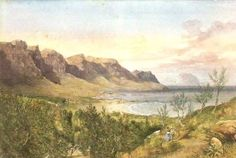 Camps Bay Camps, Cape Town, Painting, Art, Craft Art, Painting Art, Kunst, Paint, Draw