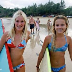 Alana Blanchard / Bethany Hamilton Bethany is awesome, tough, strong. positive, and endlessly Faithful.