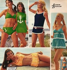 Sears 70's Beach Fashion